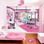 Walltastic Papier peint Barbie (240 x 300 cm)