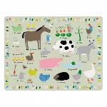 Petit Jour AF914D - Set de table Ferme