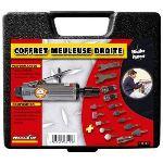 Mecafer 160153 - Meuleuse droite avec mallette et accessoires