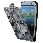 Akashi ALTECSG3103802 Hollywood - Étui à clapet pour Samsung Galaxy S3