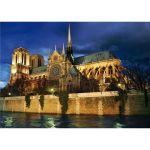 Dtoys Paysages nocturnes : Cathédrale Notre Dame de Paris - Puzzle 1000 pièces