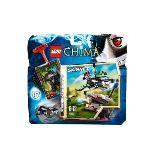Lego 70107 - Legends of Chima : L'expulsion Chi