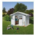 Grosfillex Déco 4,9 - Abri de jardin en PVC 4,90 m2