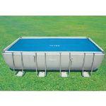 Intex 29027 - Bâche à bulles pour piscine tubulaire rectangulaire 7,32 x 3,66 m