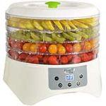 Kitchen Chef FD-880e - Déshydrateur fruits et légumes 5 plateaux 400 Watts