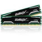 Crucial BLS2CP4G3D1609DS1S00CEU - Barrettes mémoire Ballistix Sport 2 x 4 Go DDR3 1600 MHz Dimm 240 broches
