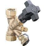 Oventrop 1060203-DN10 - Robinet d'équilibrage Hydrocontrol R fileté femelle : DN : 10 Bronze
