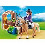 Playmobil 5520 Country - Cheval Warmblood et cavalière