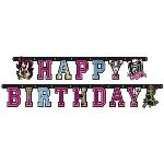 "Amscan Guirlande ""Happy Birthday"" Monster High"