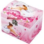 Trousselier Boîte à bijoux musicale Ballerine rose