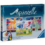 Ravensburger Peinture - Aquarelle Maxi : Les villes et leurs monuments