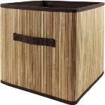Panier de rangement Multikaz en bambou (32 x 32 x 32 cm)
