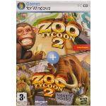 Coffret Zoo Tycoon 2 + Animaux Disparus (Extinct Animals) - Le jeu + l'extension sur PC