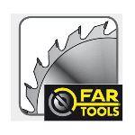 Far Tools 113829 - Lame de scie à onglet 80 dents 210 x 25,4 mm