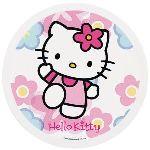 Sanrio Disque de décoration en sucre Hello Kitty (16 cm)
