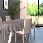 38 offres nappe ovale gris comparez et faites vos achats. Black Bedroom Furniture Sets. Home Design Ideas