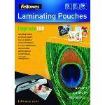 Fellowes 100 pochettes de plastification à chaud format A5 (100 µ)