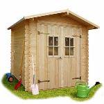 Solid S8782 - Abri de jardin Lolland en bois 19 mm 3,47 m2