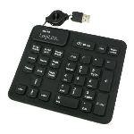 Logilink ID0059 - Pavé numérique 33 touches USB