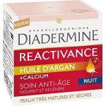 Diadermine Reactivance à l'huile d'argan - Anti-Rides Nuit 50 ml