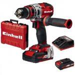 Einhell TE-CD 18 Li BL (2x2,0 Ah) - Perceuse visseuse sans fil 18 volts + 2 batteries
