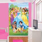 Walltastic Papier peint Princesses Disney (152,4 x 243,84 cm)