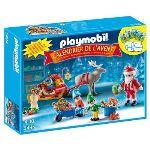 Playmobil 5494 - Calendrier de l'avent : Atelier de jouets avec Père Noël et lutins