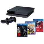 Sony Console PS4 500 Go + Driveclub + Little Big Planet 3 + The Last of Us
