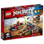 Lego 70600 - Ninjago : La poursuite en moto des Ninja