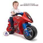 Injusa Moto électrique Spiderman 6V