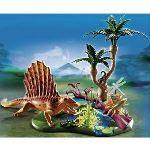 Playmobil 5235 Dinos - Dimétrodon avec végétation