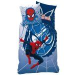 Spiderman - Housse de couette et taie 100% coton (140 x 200 cm)