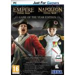 Total War Empire + Total War Napoleon sur PC