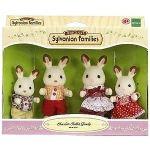 Epoch Sylvanian Families 3125 - Famille lapin chocolat