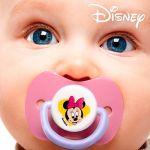 2 sucettes en silicone Disney Minnie Mouse