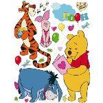 Stickers géant Winnie et ses amis