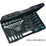 Hazet 1557/58 - Set de clés à douilles Torx 58 pièces