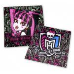 15 serviettes en papier Monster High