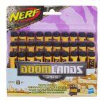 Hasbro 30 fléchettes de recharge pour le Nerf Doomlands