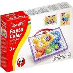 Quercetti Jeu de mosaïques - Fantacolor Portable Small (160 clous)