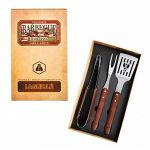 Laguiole Set barbecue 3 ustensiles