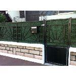 Euro Castor Green Écran de verdure en rouleau 195 brins 3 x 1 m