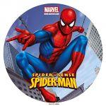 Dekora Disque de décoration en sucre Spiderman 20 cm