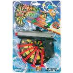 Multi Toys Pistolet avec flèches et cible ronde