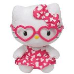 Ty Peluche Hello Kitty Saint Valentin : Robe coeur 15 cm