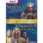 Medieval II : Total War Gold Edition - Le jeu + l'extension Kingdoms sur PC