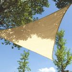 Perel GSS3500 - Voile solaire triangulaire 5 x 5 x 5 m
