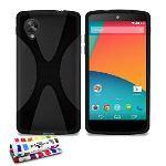 """Muzzano FE-2608-0000-259-NNNN - Coque souple Ultra Fine """"Le X"""" Premium pour Nexus 5"""
