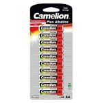 Camelion 10 piles alcalines AA/LR6 1.5V