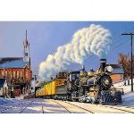 Castorland Puzzle Train de Noël 500 pièces